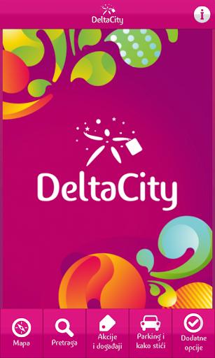 Delta City app home