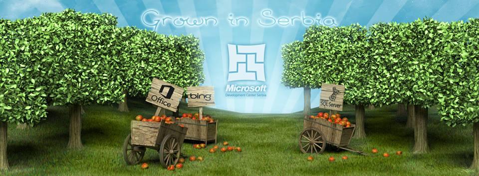 microsoft grown in serbia