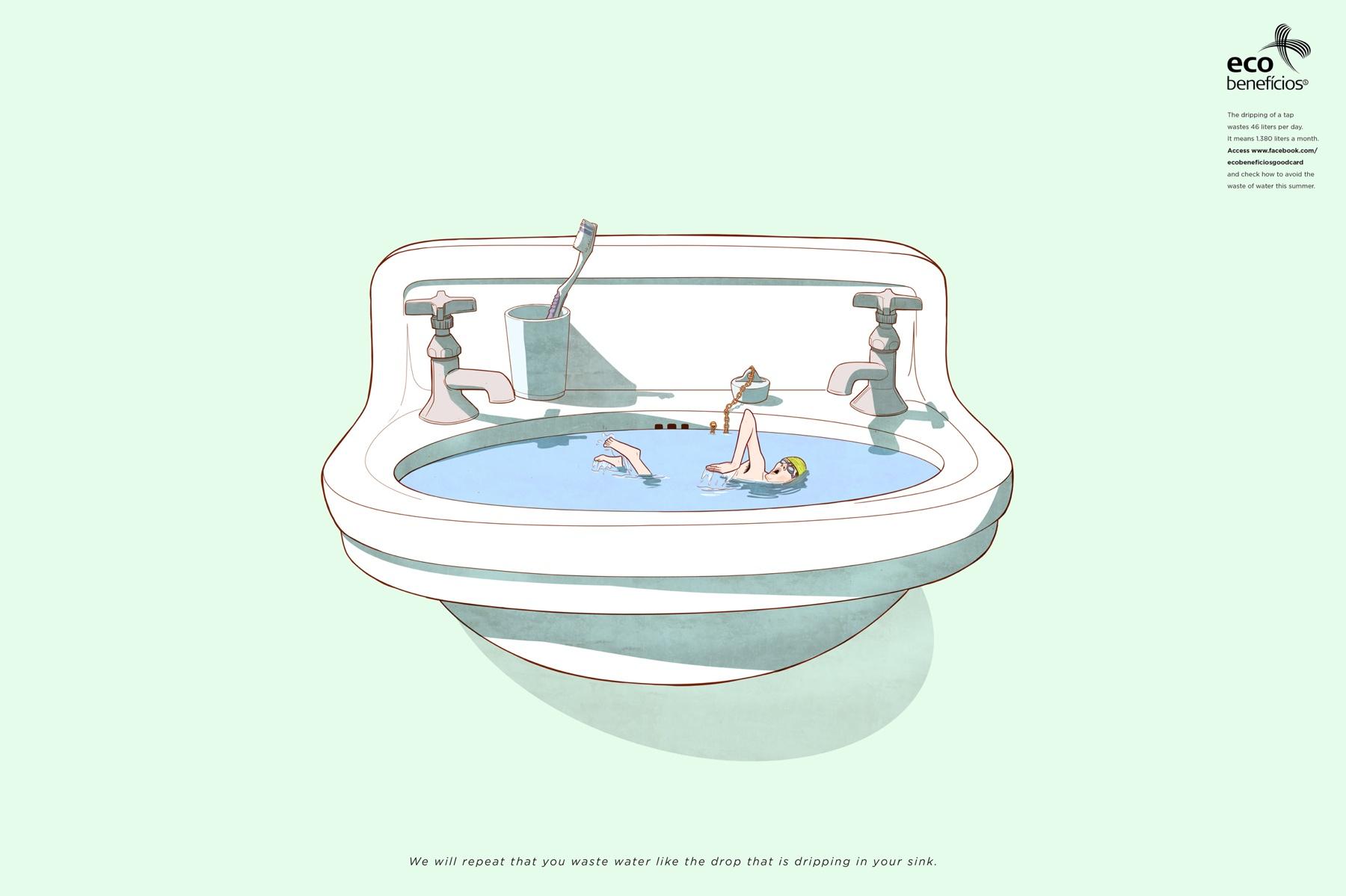 Ecobenefícios Good Card Sink
