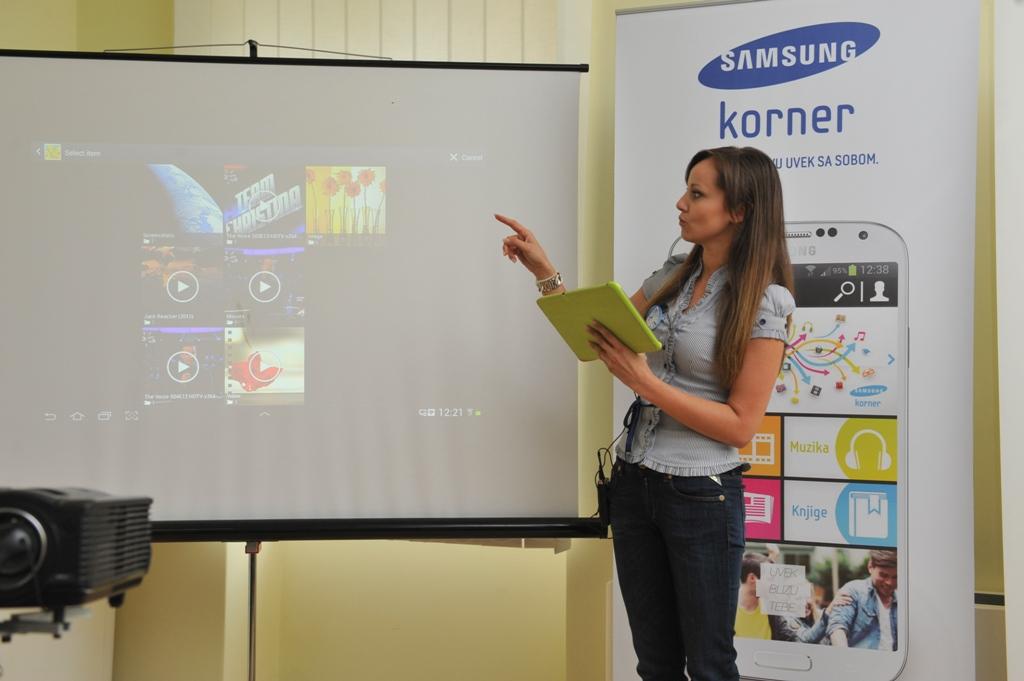 Samsung Korner event