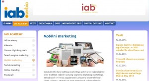 Mobilni marketing (IAB kurs)