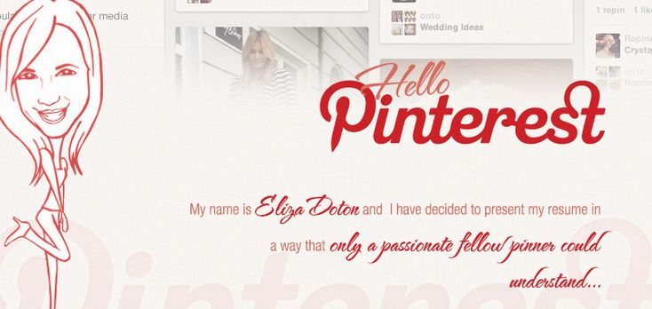 Eliza Doton Pinterest CV