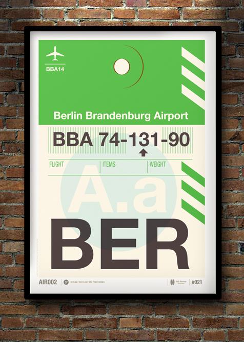 Flight Tag Print BER