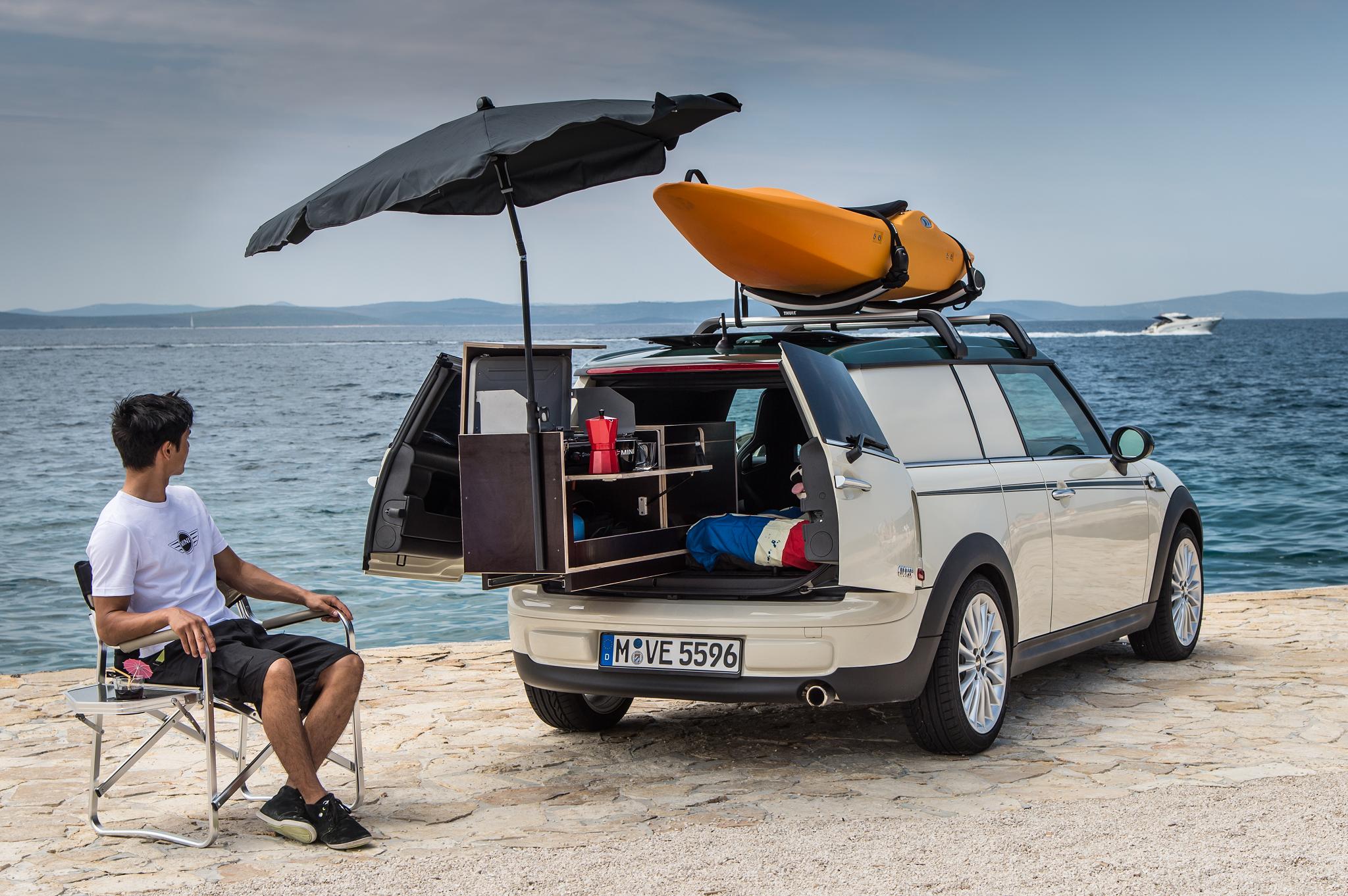The MINI Clubvan Camper 3