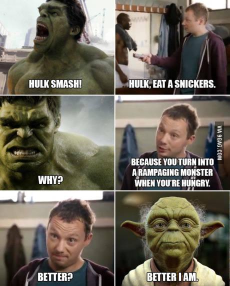 hulk yoda snickers