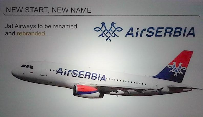 Air Serbia rebranding FOTO