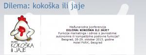 Međunarodna konferencija DILEMA: KOKOŠKA ILI JAJE? @ Hotel Park