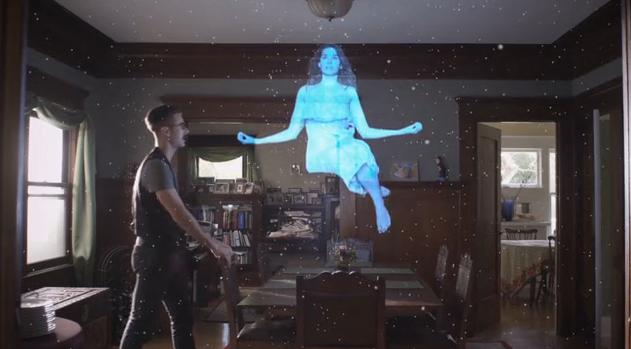 Full size hologram Provision 3D Media