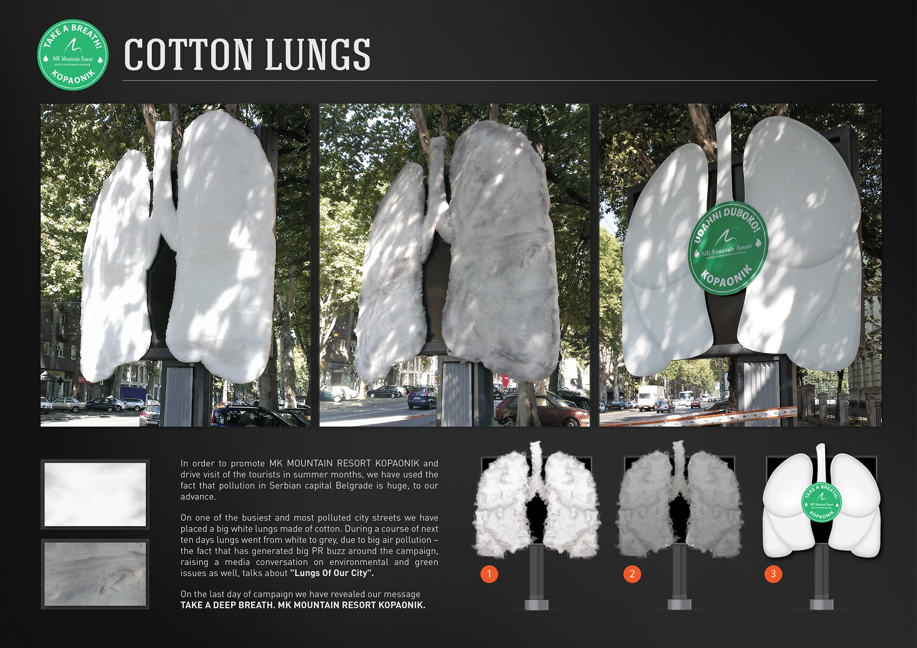 MK Mountain Resort Cotton lungs