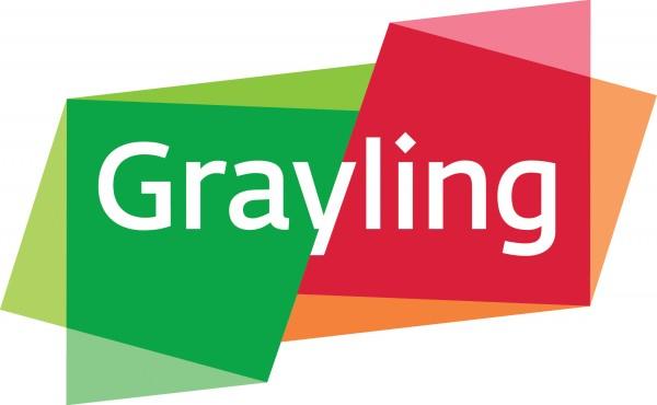Grayling Pete Pedersen logo