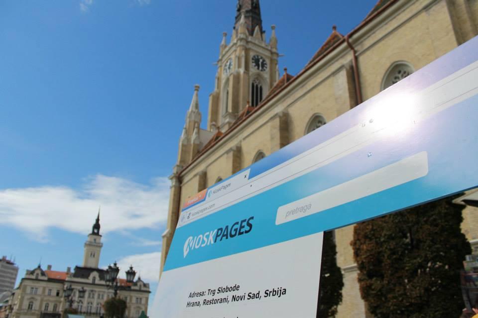 KioskPages performans po Vojvodini