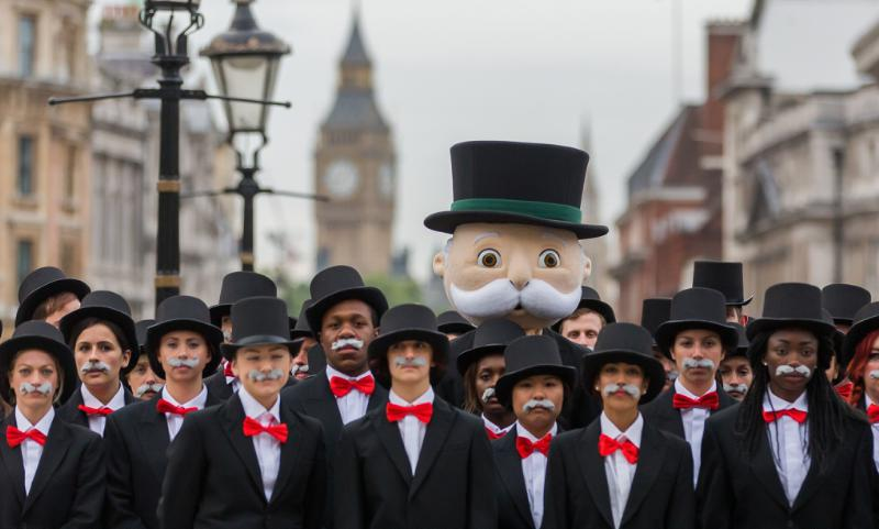 Mr Monopoly Takes Over London