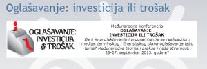 Oglašavanje: investicija ili trošak @ TBA