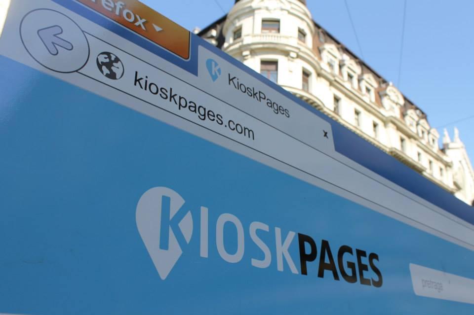 kioskpages flash mob