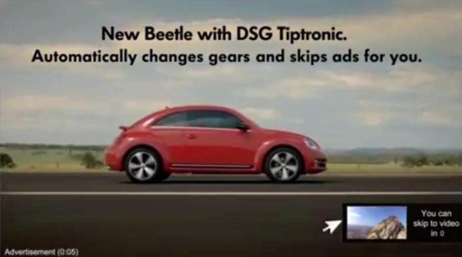 new beetle skip ad volkswagen