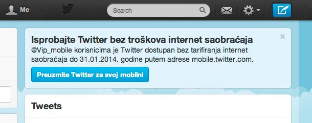 Twitter VIP Mobile