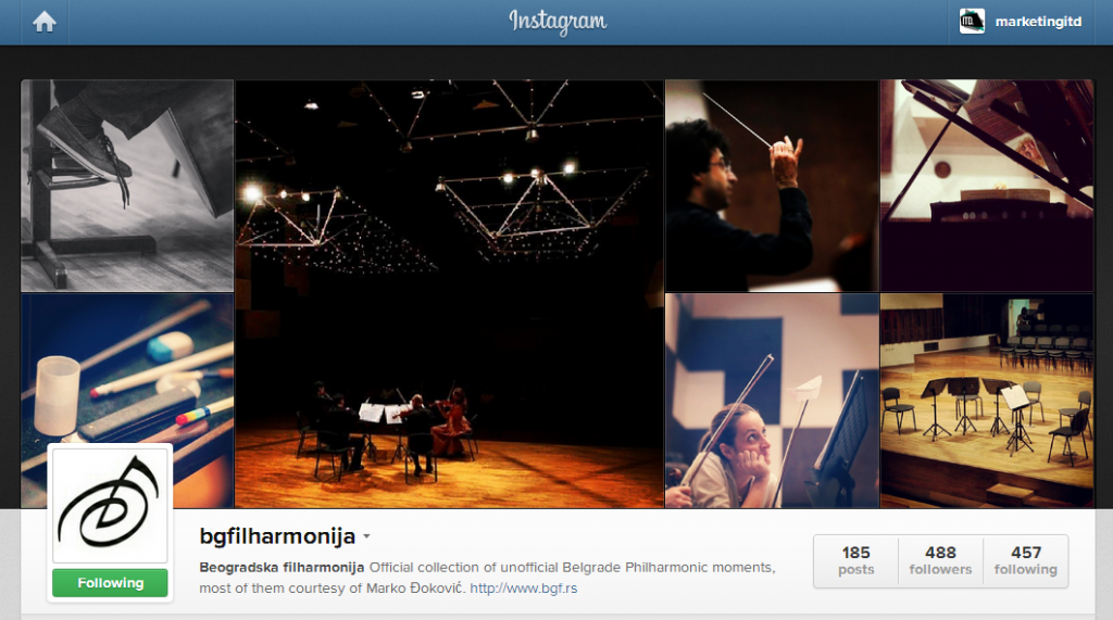 bgfilharmonija on Instagram