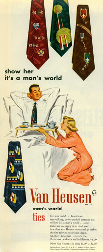 show her it s a man s world