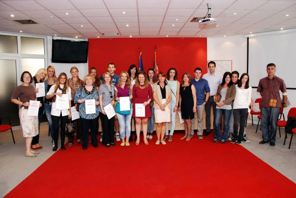 urucenje diploma VII generaciji web novinara UNS
