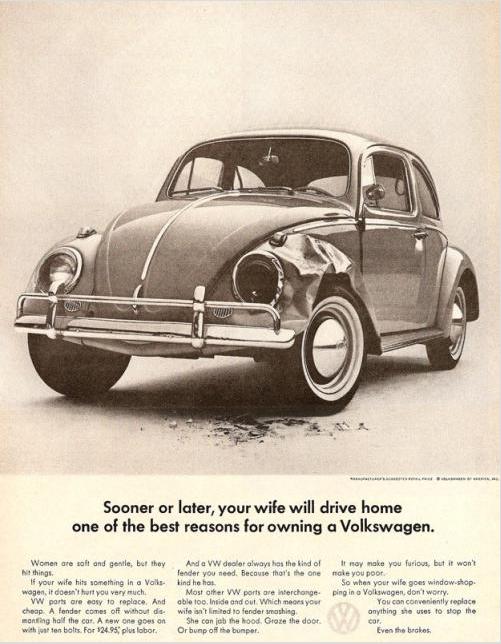 volkswagen sexist ad