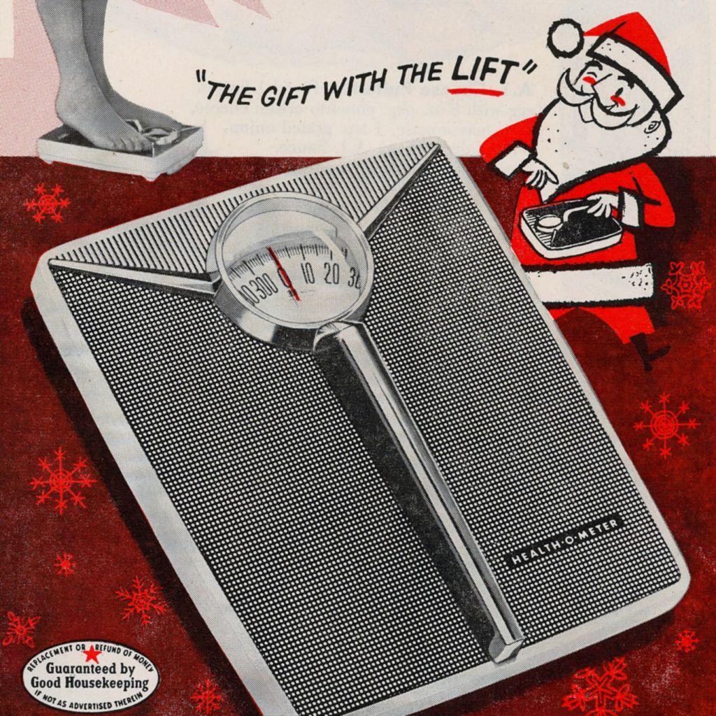 Health-O-Meter Ad Christmas