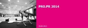 PRO.PR 2014 @ Hotel Holiday | Sarajevo | Bosnia and Herzegovina