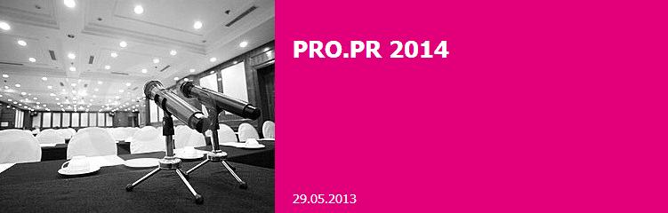 PRO PR 2014 PROPR CONFERENCE