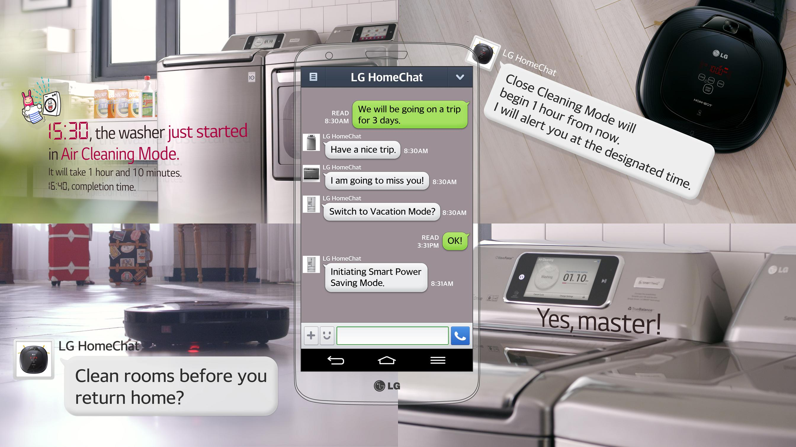 LG HomeChat servis