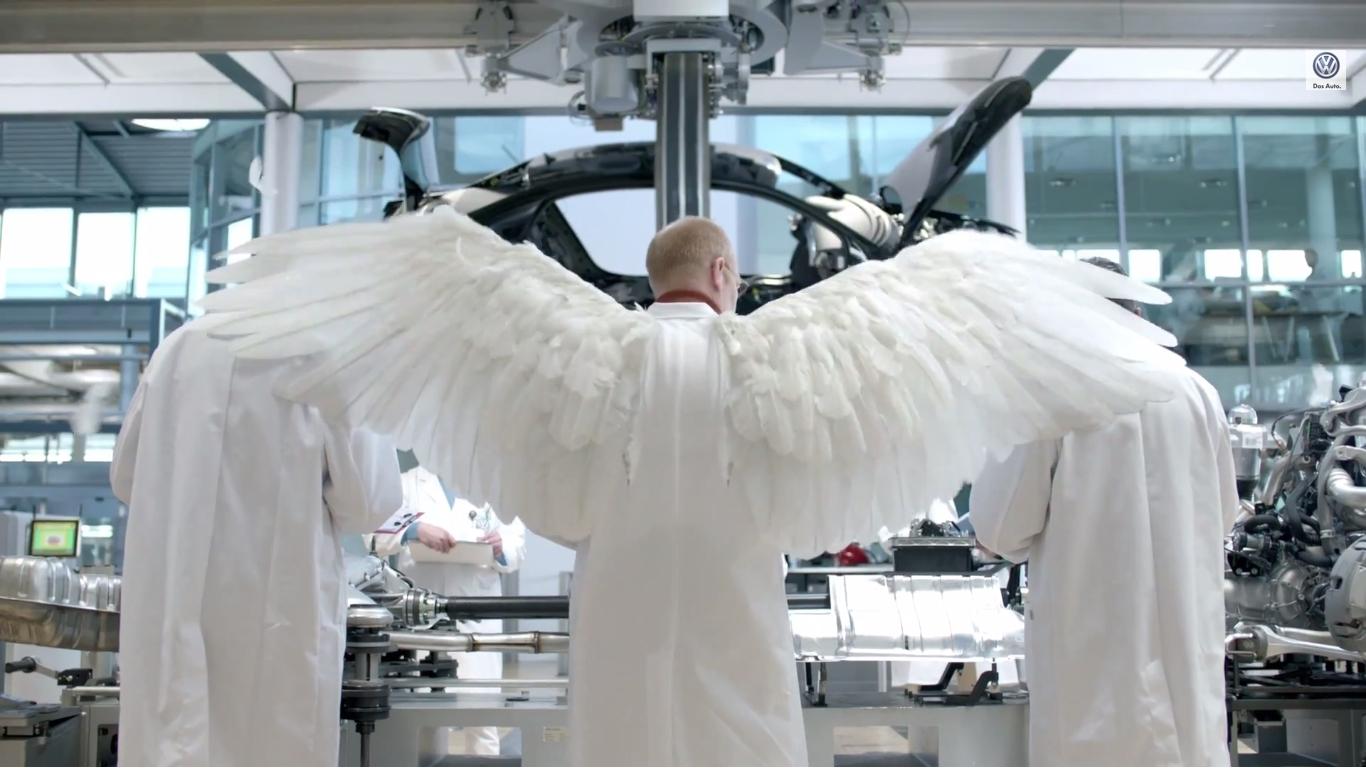 volkswagen wings super bowl 2014