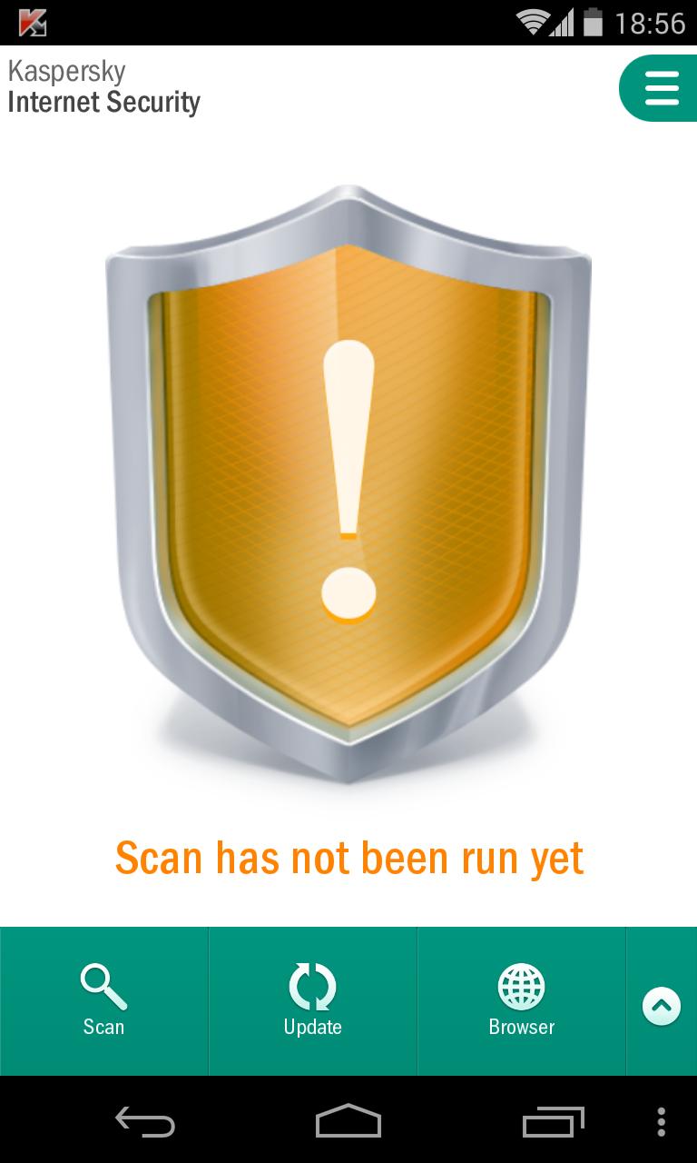 LG Nexus Kaspersky Internet Security 2014 Screenshot 1