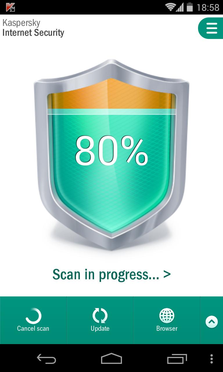 LG Nexus Kaspersky Internet Security 2014 Screenshot 2