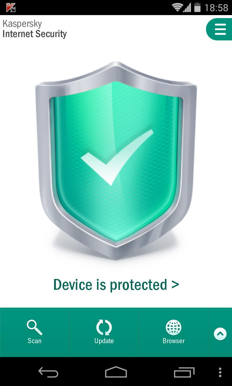 LG Nexus Kaspersky Internet Security 2014 Screenshot 3