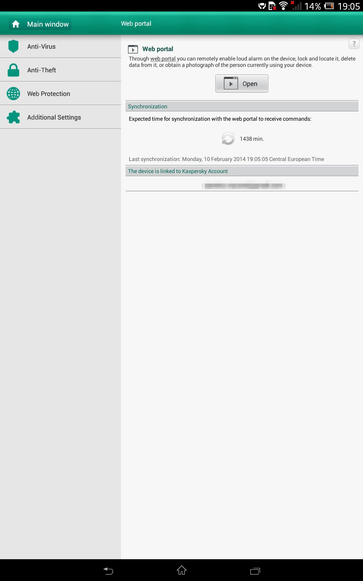 Sony Xpera Z tablet Screenshot 12