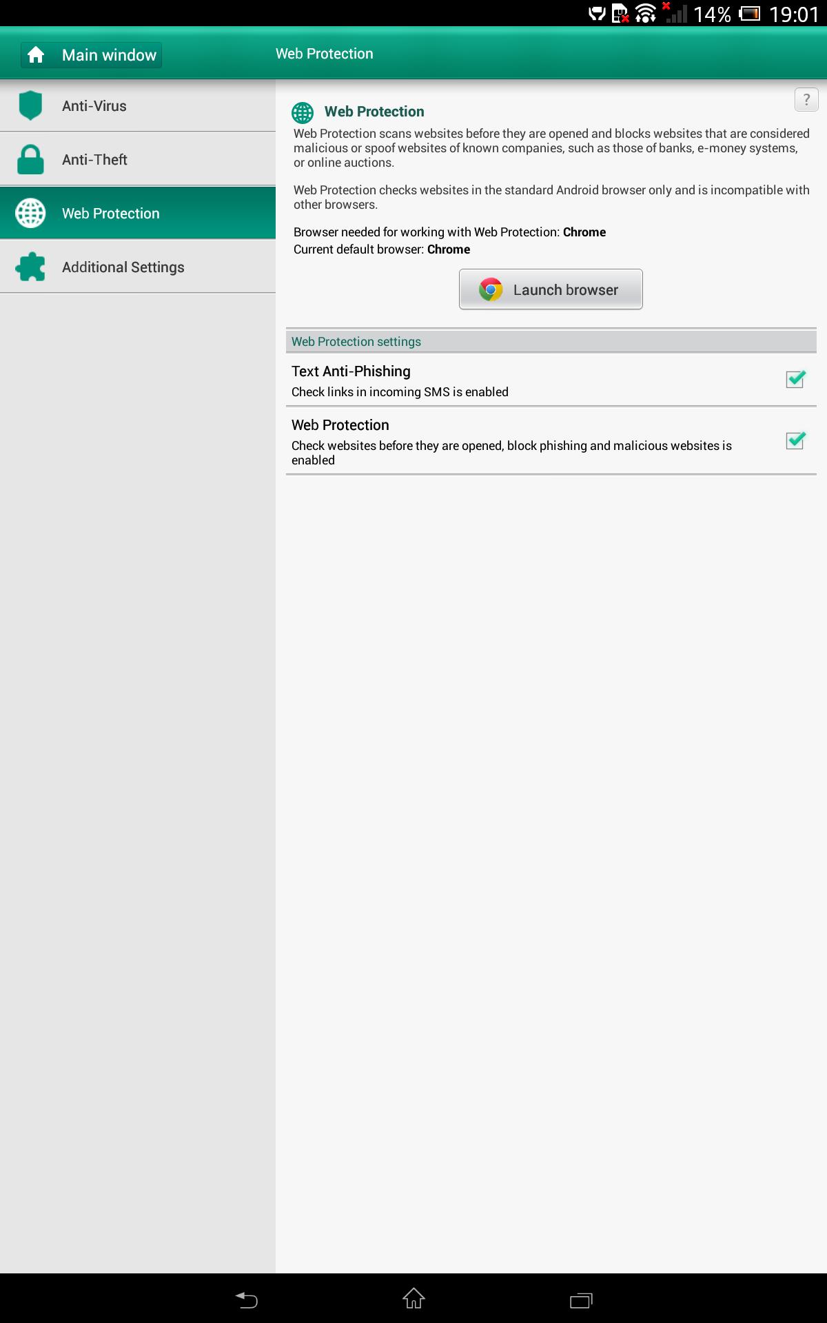 Sony Xpera Z tablet Screenshot 5