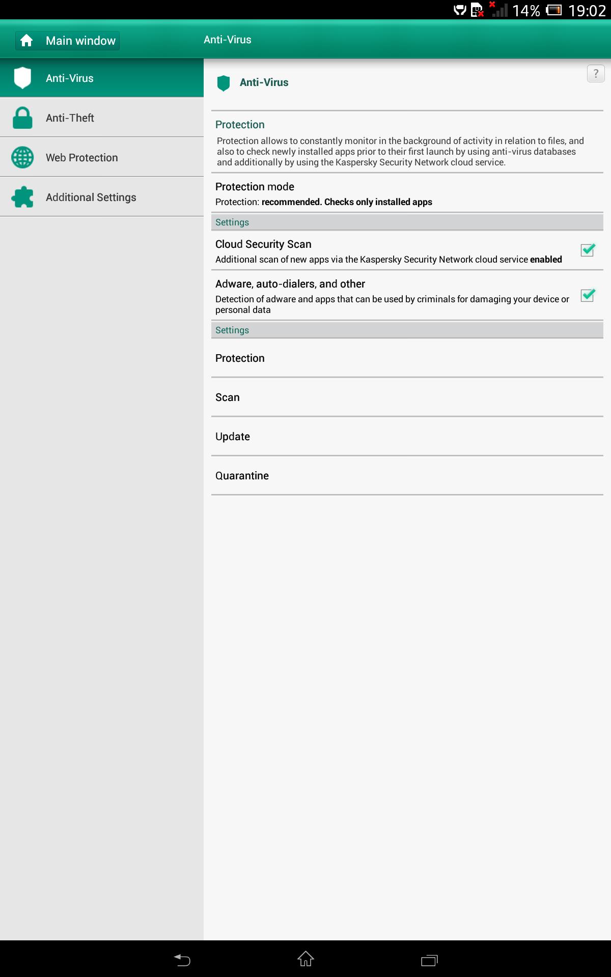 Sony Xpera Z tablet Screenshot 7