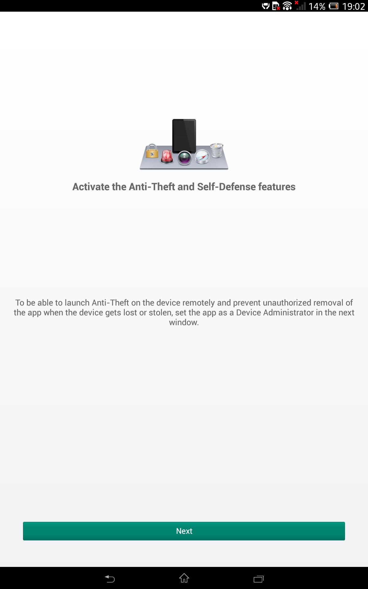 Sony Xpera Z tablet Screenshot 8