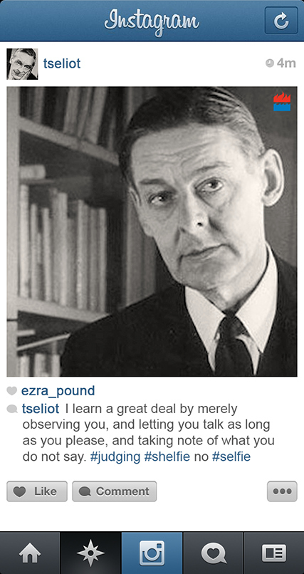 T.S. Eliot instagram