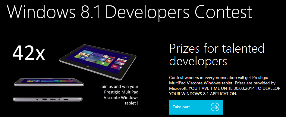 Windows 8.1 Developers Contest