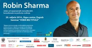 Robin Sharma: Vođa bez titule @ Hypo Centar