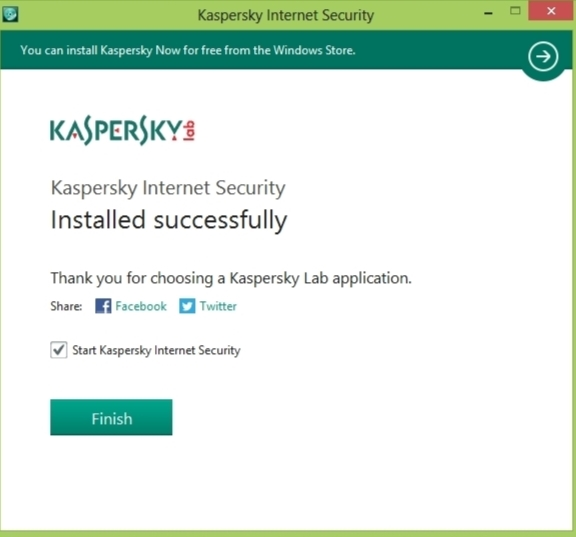screenshot kaspersky AV 2014 windows 8 installation step 3