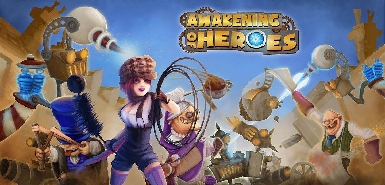 Awakening of Heroes Cover