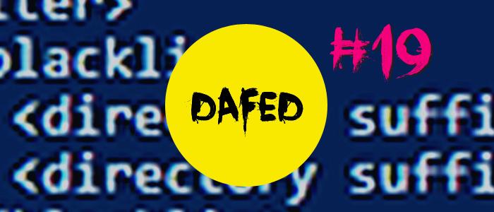 DaFED19