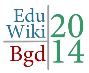 EduWikiBgd14 Logo