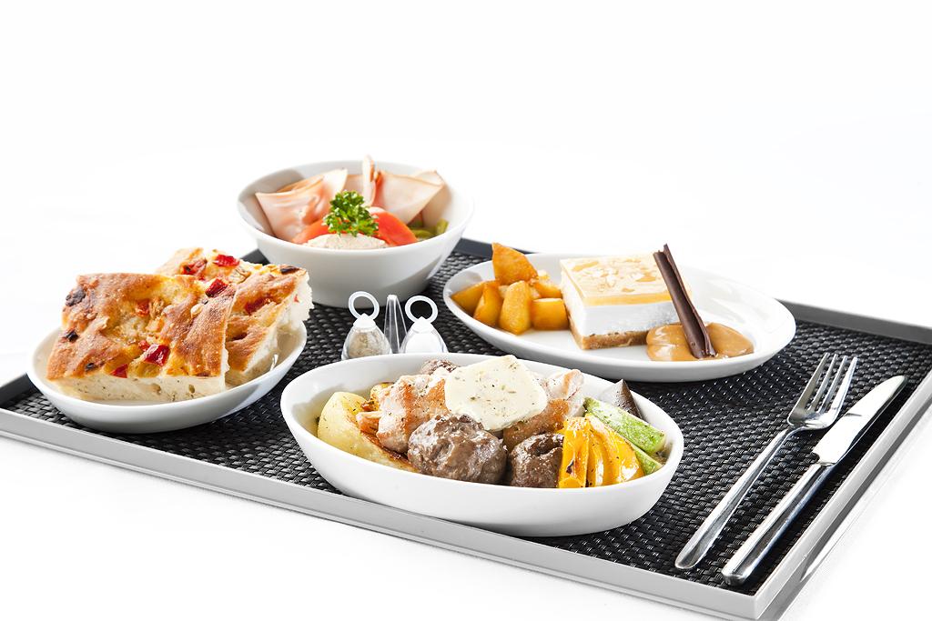 air serbia catering new food menu