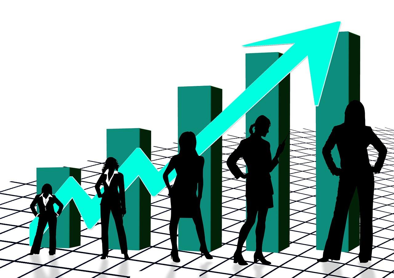 business women chart