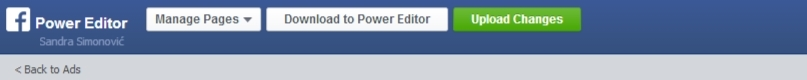 power editor upload changes