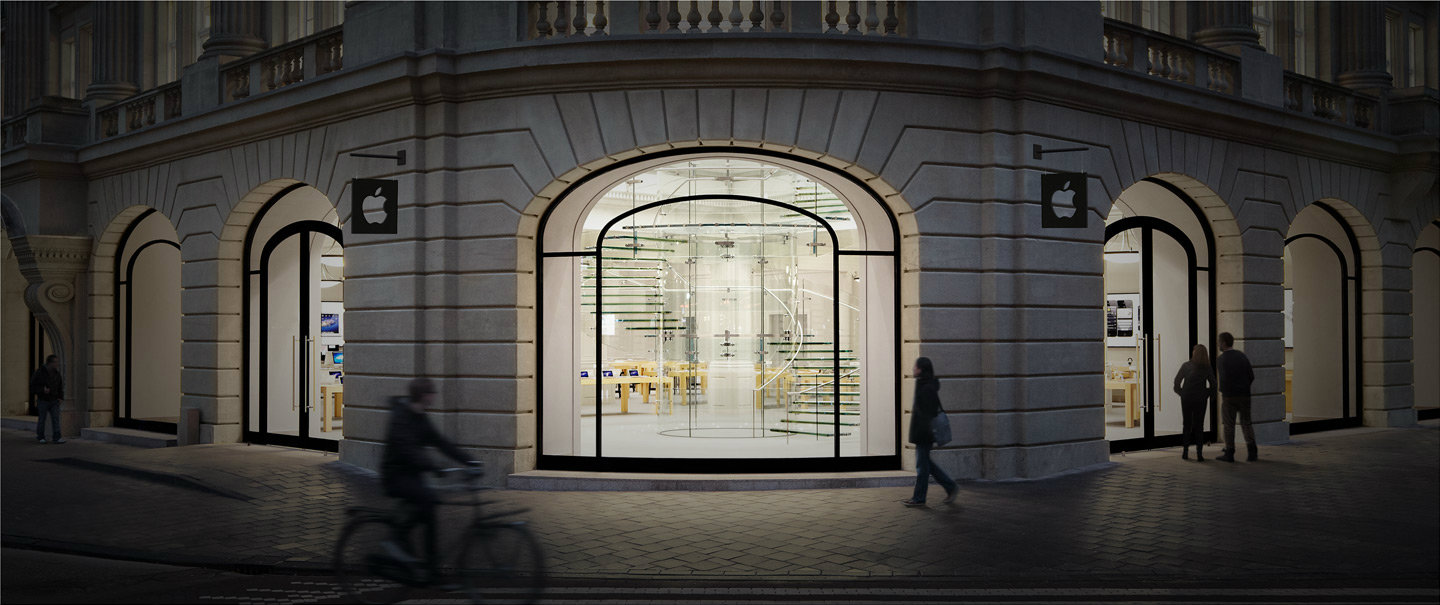 retail store gallery amsterdam