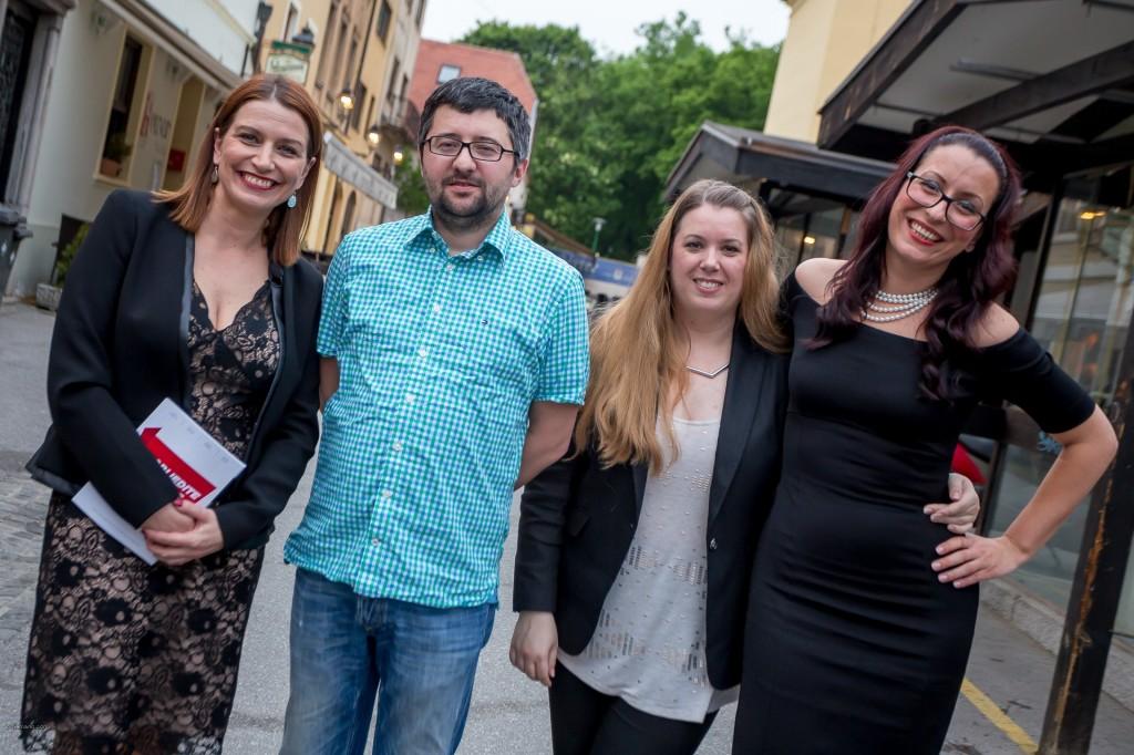 Autori knjige: Ana Penović, Boris Ličina, Irena Rašeta i Milica Cetinić