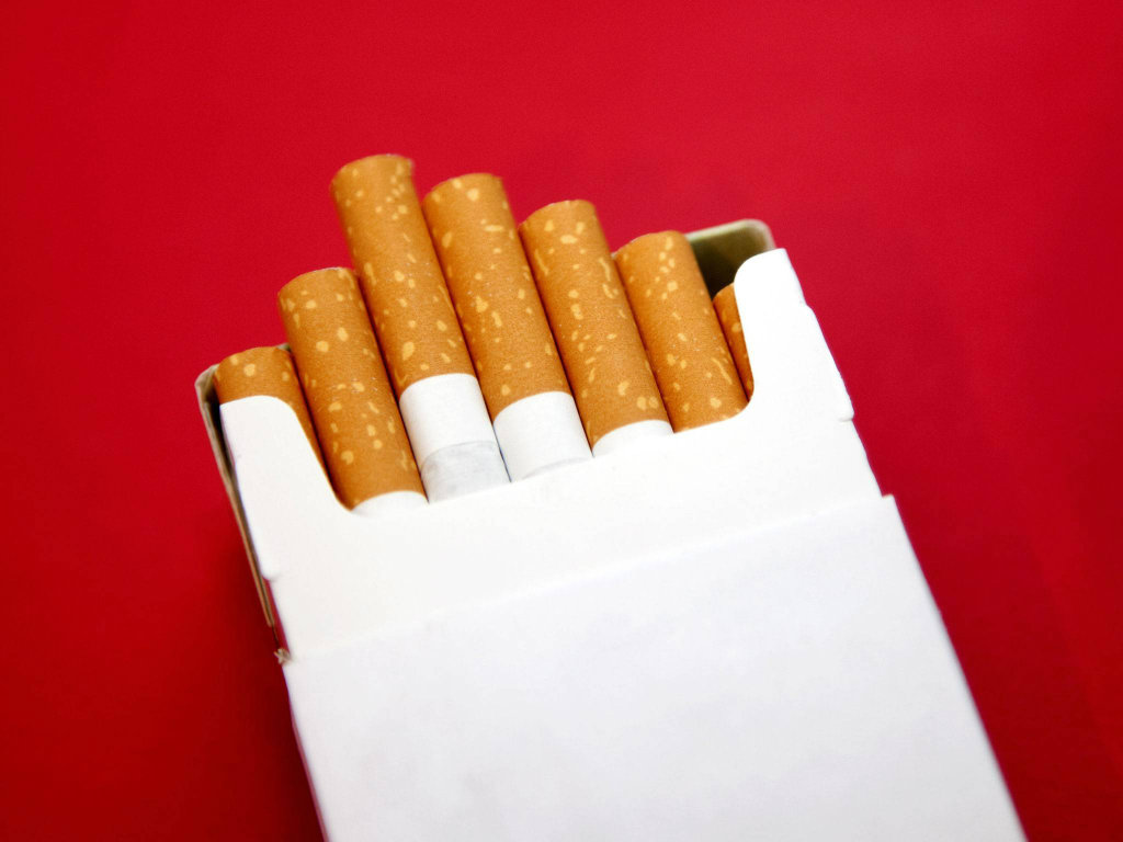 cigarette packaging plain