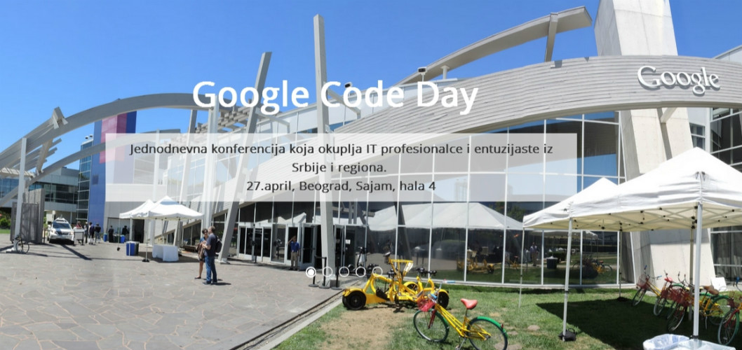 google code day cover